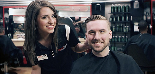 Sport Clips Haircuts of Northbrook​ stylist hair cut
